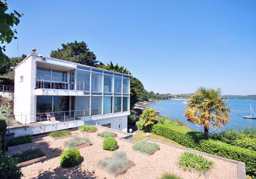 On the market: John Crowther-designed 1960s Restronguet Point in Feock, Cornwall