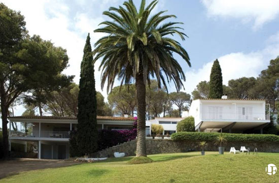 On the market: 1950s Josep Pratmarsó-designed midcentury-modern property in Palamós, Costa Brava, Spain