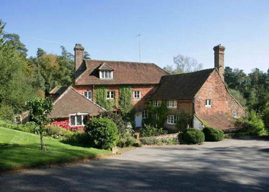 Cotchford Farm - the last home of Brian Jones in Hartfield, East Sussex