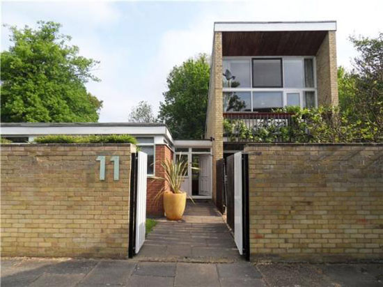 On the market: Four-bedroom 1960s modernist house in the Courtyards development, Cambridge, Cambridgeshire