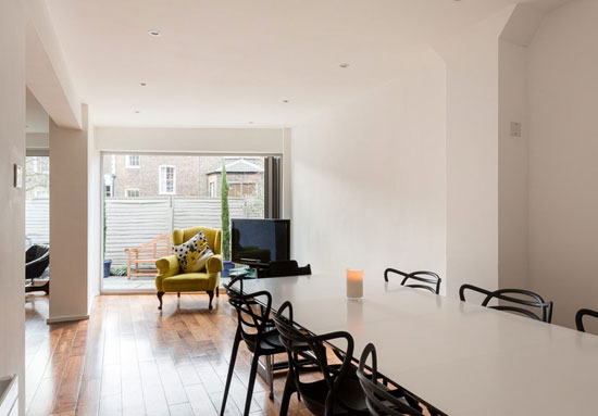 On the market: 1970s Tim Tomlinson Associates-designed property in The Courtyard, Barnsbury Terrace, London N1