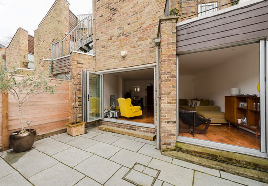 1970s Tim Tomlinson Associates-designed property in The Courtyard, Barnsbury Terrace, London N1