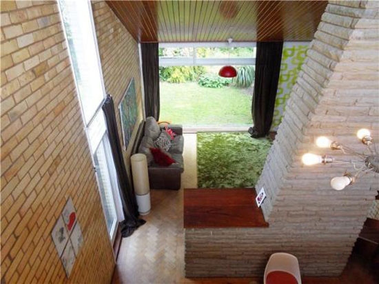 Four-bedroom 1960s modernist house in the Courtyards development, Cambridge, Cambridgeshire