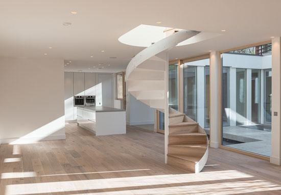 Ansham-designed contemporary courtyard house in London SE23