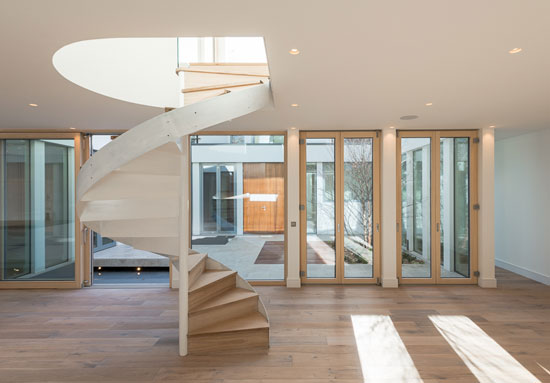 Ansham-designed contemporary courtyard house in London SE23