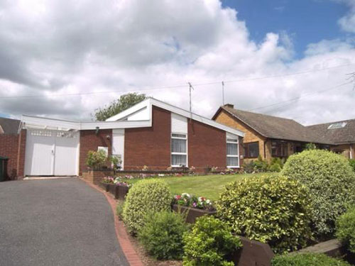 Three-bedroom Scandinavian-style bungalow in Coventry, West Midlands