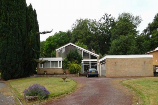1970s modernist property in Coventry, West Midlands