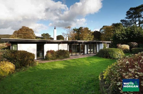 Five-bedroom single-storey modernist property in Llansannor, Vale Of Glamorgan South Wales