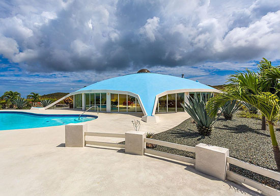 On the market: 1960s space age property in Christiansted, US Virgin Islands