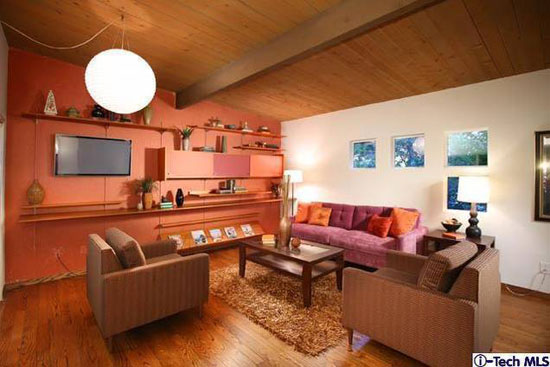 1960s Webster Wiley-designed midcentury modern property in La Crescenta, California, USA