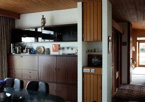 Rex Johnson-designed four bedroomed house in Crouch. near Sevenoaks, Kent