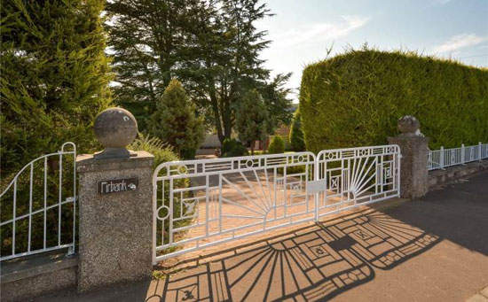 Fairbank 1930s art deco property in Cupar, Fife, Scotland