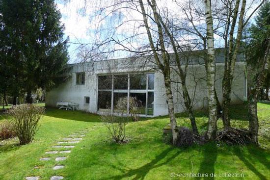 1970s Andre Gomis-designed modernist property in Le Creusot, eastern France