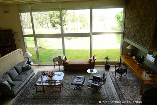 1970s Andre Gomis-designed modernist property in Le Creusot, eastern France