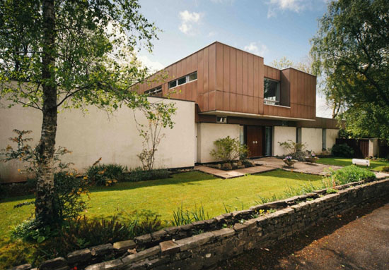 On the market: 1960s Powell Alport-designed midcentury modern property in Cyncoed, Cardiff, South Wales