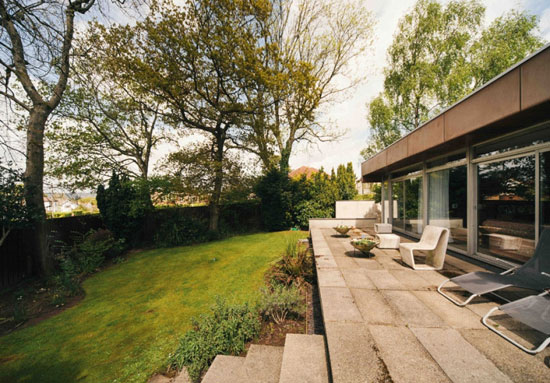1960s Powell Alport-designed midcentury modern property in Cyncoed, Cardiff, South Wales