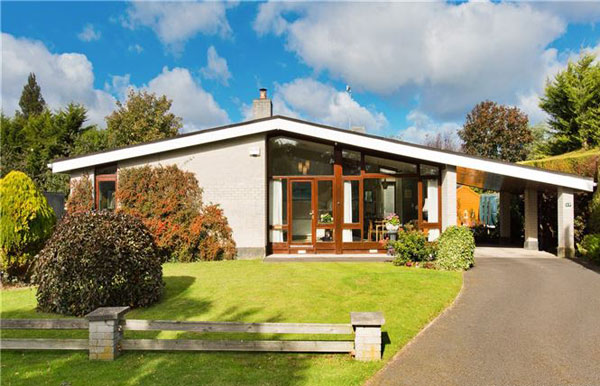 1960s Diamond Redfern Anderson-designed midcentury property in Dublin, Ireland