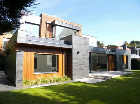 Dk-Architects-designed contemporary modernist property in Formby, Merseyside