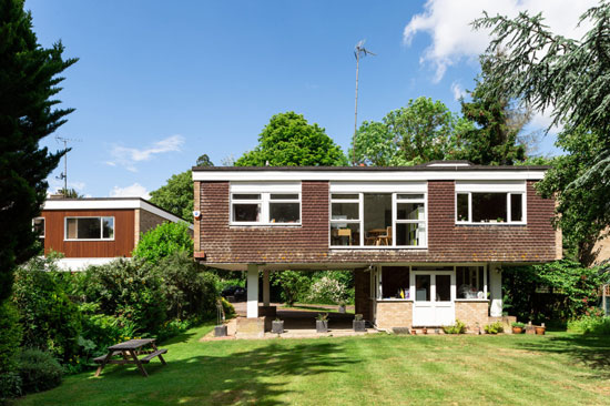 1960s Ducketts Mead modernist house in Roydon, Essex