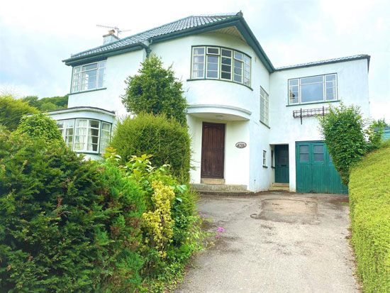 1930s art deco house in Dursley, Gloucestershire