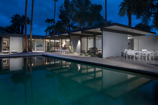 On the market: 1950s Donald Wexler-designed midcentury property in Palm Springs, California, USA