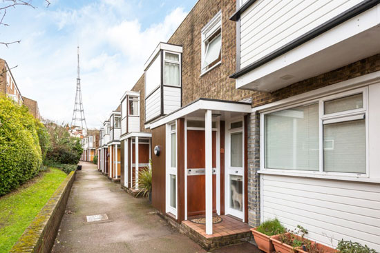 On the market: Austin Vernon & Partners 1960s townhouse on the Dulwich Estate, London SE19