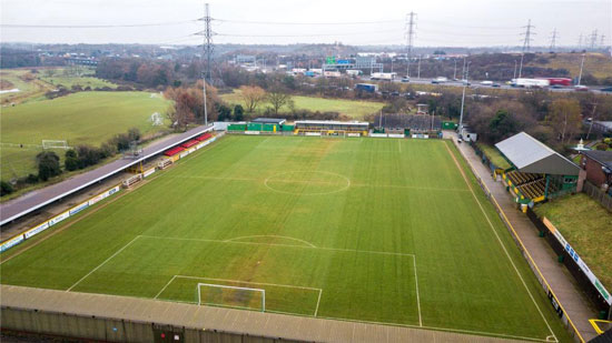 Thurrock Football Club and stadium in Essex up for sale