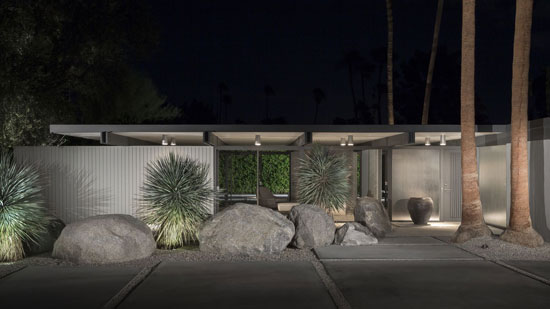 1950s Donald Wexler-designed midcentury property in Palm Springs, California, USA