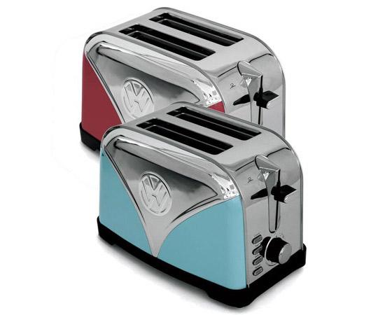Volkswagen Camper Van retro kettle and toaster