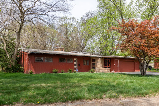Renovation project: 1950s midcentury modern property in Detroit, Michigan, USA