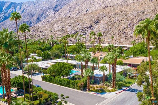 Midcentury hotel for sale: 1950s Herbert Burns-designed Desert Hills in Palm Springs, California, USA