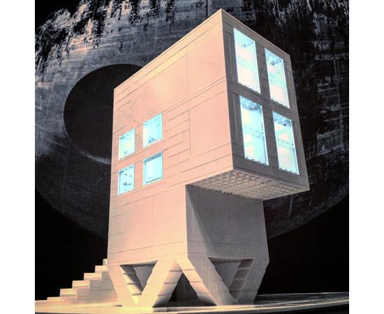 Arndt Schlaudraff's Brutalist buildings in Lego on Instagram