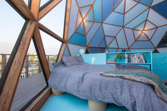 William King-designed dome property in Los Angeles, California, USA