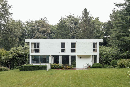 On the market: 1960s Marc Dessauvage-designed modernist property in Kapellen, Belgium