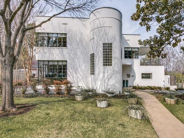 1930s modern movement property in Dallas, Texas, USA