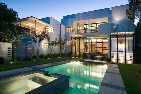 1930s modern movement property in Dallas, Texas, USA