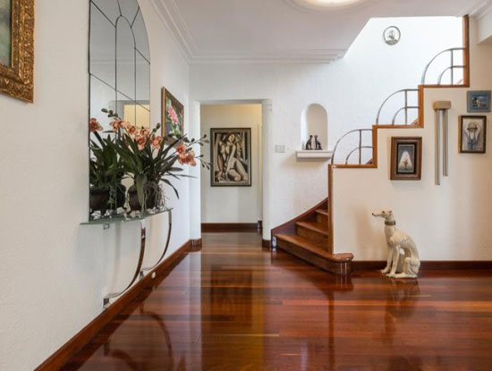 1930s Oswald Chisolm-designed Chisolm House art deco property in Dalkeith, Western Australia