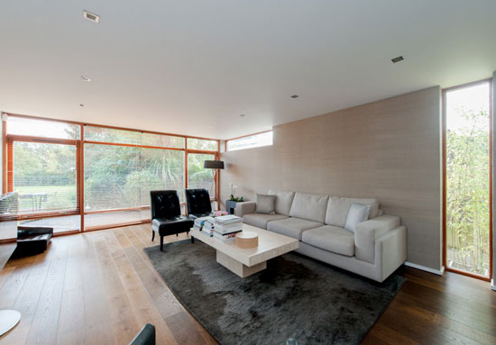 Gn2 Architects-designed contemporary modernist property in Danbury, Essex
