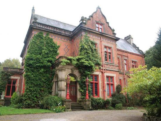 Woodlands 15 bedroom grade II-listed Victorian stately home in Darwen, Lancashire