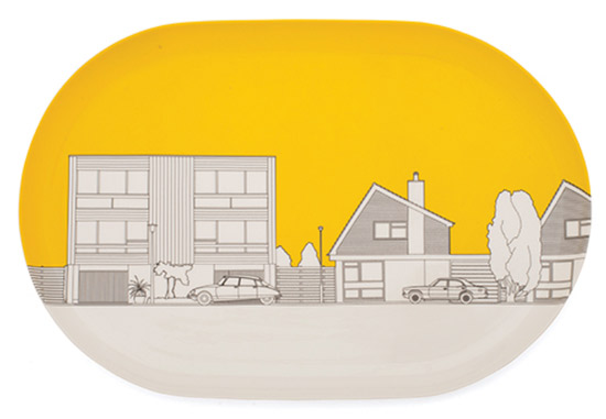 Domestic architecture-inspired Eclectic Avenue homeware collection by People Will Always Need Plates