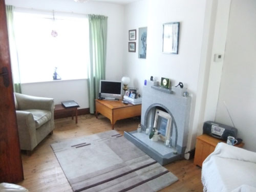 Three-bedroomed semi-detached house in Deal, Kent
