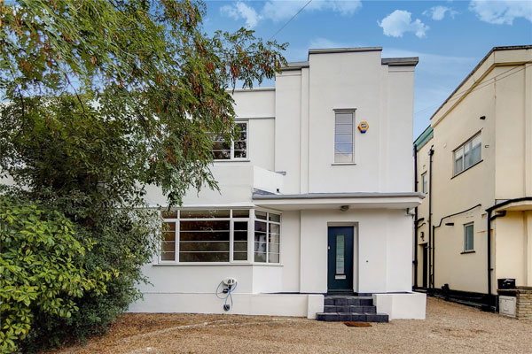 1930s art deco house in London SW2