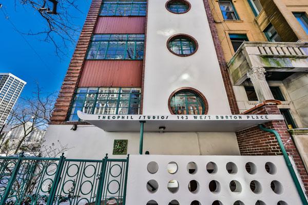 Frank Lapasso-designed art deco apartment in Chicago, Illinois, USA