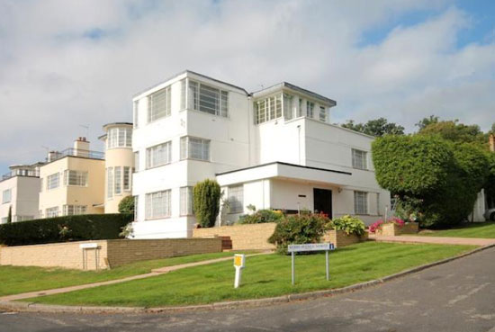 Douglas Wood-designed 1930s art deco property in Stanmore, Middlesex