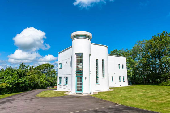 Price drop: Wester Waterlair art deco-style property in Fordoun, Aberdeenshire, Scotland