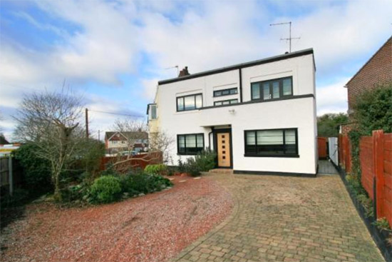 On the market: Three bedroom 1920s semi-detached art deco property in Rayleigh, Essex
