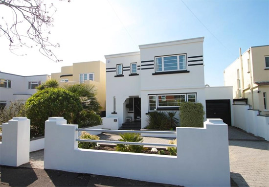 On the market: Foxgloves 1930s art deco property in Lee-on-the-Solent, Hampshire