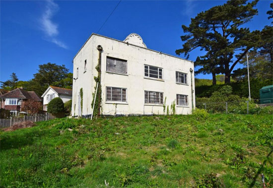 1930s art deco renovation project in Lyme Regis, Devon