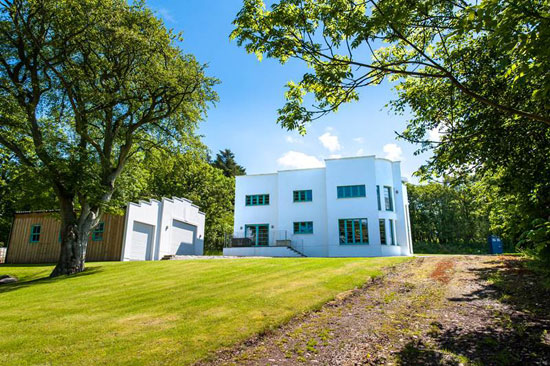 Wester Waterlair Art Deco Style Property In Fordoun Aberdeenshire Scotland Wowhaus