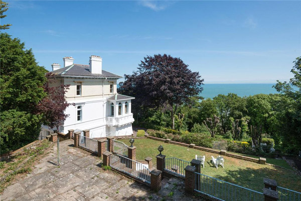 1920s art deco-style house in St Margarets Bay near Dover, Kent